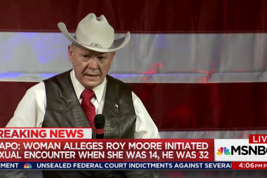 GOP senators call for Moore to step aside