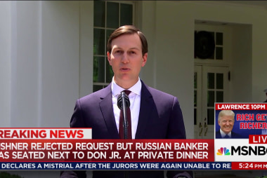 Kushner failed to disclose outreach from...