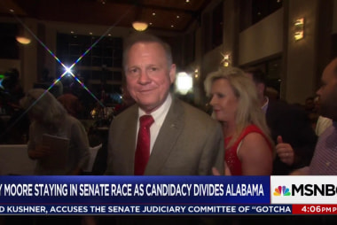 Pastors standing by Roy Moore