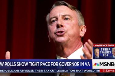 Northam, Gillespie tied in VA Governor race