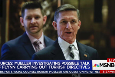 Mueller probing Flynn meeting with Pro...