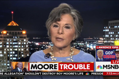 Boxer: R behind Roy Moore's name stands...