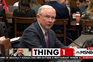 Sessions questioned on 'Black Identity...