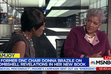 Donna Brazile reflects on tenure as DNC chair