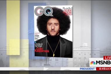 Colin Kaepernick GQ cover controversy...