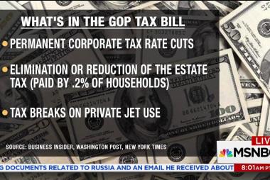 GOP tax plan raises taxes 'on poor to...