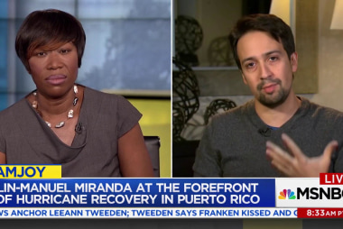 Lin-Manuel Miranda speaks out for Puerto...