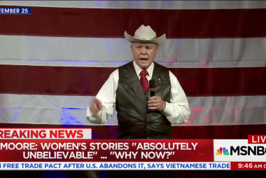 Will Roy Moore's misconduct allegations...