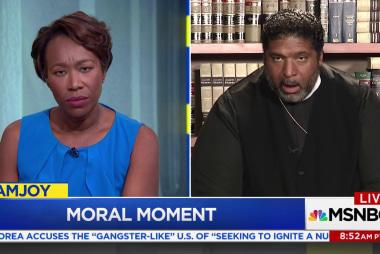 Bishop Barber challenges evangelicals'...