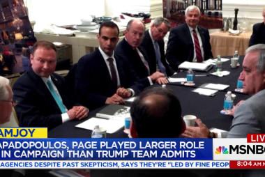 Trump associates downplay campaign roles...