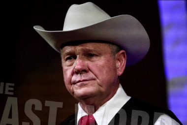 Roy Moore remains silent after allegations...