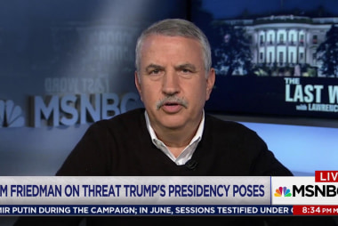 Thomas Friedman: 'Trump is a chump'