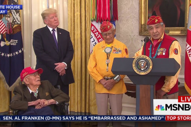 Gracious Navajo vets sidelined by Trump...
