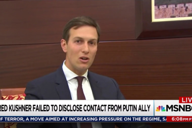 Jared Kushner's Trump Russia hole deepens