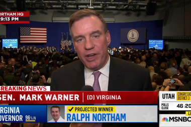 Virginia Democrats celebrate big win