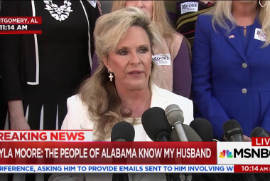 Kayla Moore defends husband's candidacy: ...