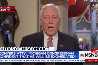 Rep. Hoyer: Conyers should resign if...