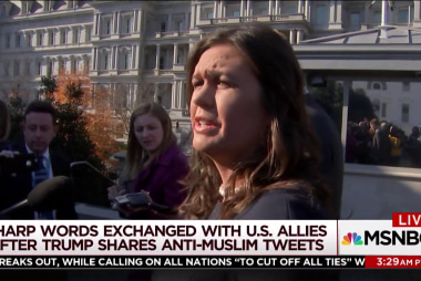 Trump undercuts himself again with tweets