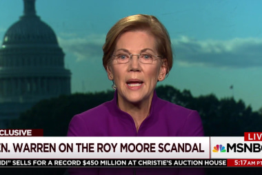 Sen. Warren: Will Trump now stand up to...