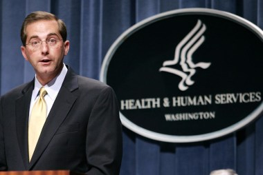 Trump Picks Alex Azar as Next Secy. of...