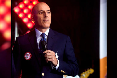 Lauer's inappropriate behavior reportedly...