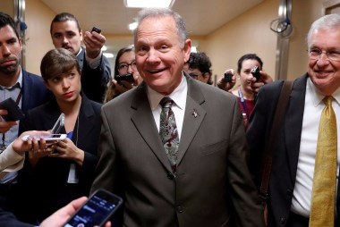 Alabama GOP Sticking by Roy Moore Despite...