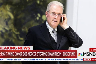 Robert Mercer stepping down from hedge fund