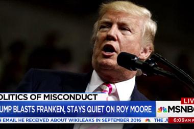 Trump weighs in on Al Franken sexual...