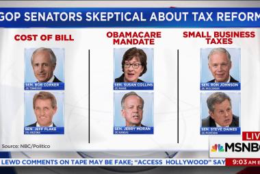 Key GOP Senators express concerns about...