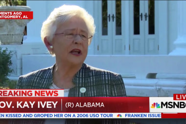 Alabama Governor says she will vote for...