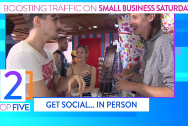 How to get foot traffic on Small Business...