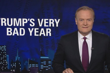 Lawrence on Trump's very bad year