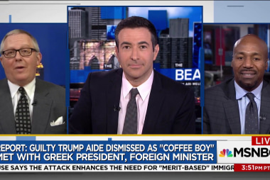 """Trump aide who coined """"coffee boy"""" defense admits some exaggeration"""