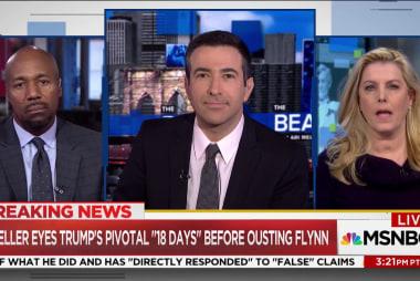 "Mueller eyes Trump's pivotal ""18 days"" before firing Flynn"