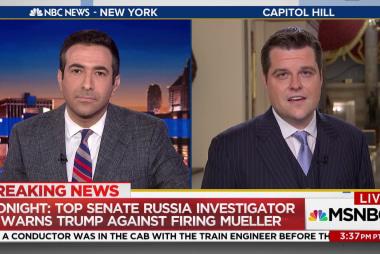 GOP Congressman struggles to defend accusations against Rosenstein, Mueller