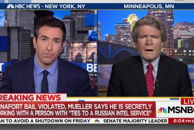 Mueller: Manafort bail violated, working...
