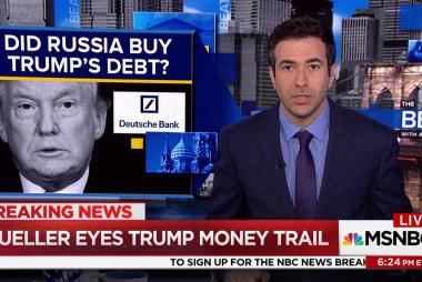Mueller follows Trump money trail