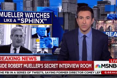 """Mueller witness: """"A sphinx-like presence"""""""