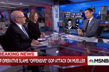 """Eric Holder: Mueller attacks """"B.S."""""""