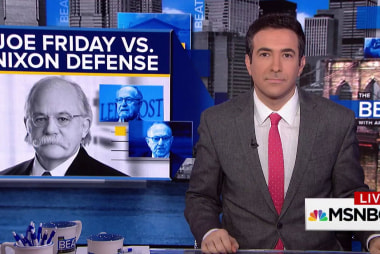 """Trump lawyers openly fight over """"Nixonian""""..."""