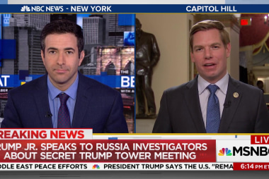 Trump Jr. asked Russian lawyer for info on...