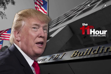 Trump again blasts the FBI targeting Dep. Dir. McCabe