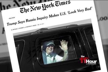 NYT: Trump says Russia probe makes America look bad