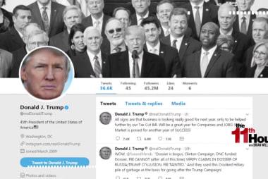 Possible Trump's spent 40 hours tweeting as president
