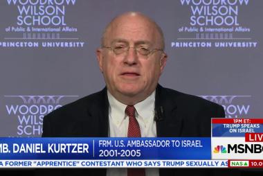 Trump is set to recognize Jerusalem as...