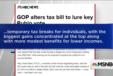 Corker, Rubio flip to yes on GOP tax bill