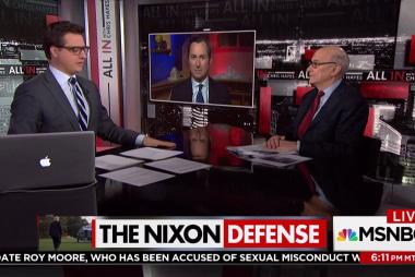Trump tries the Nixon defense