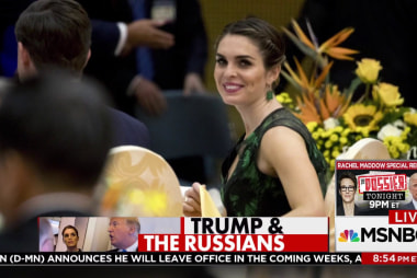 FBI warned Hope Hicks about Russia emails