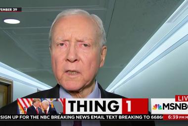 Senator 'grateful' op-ed cited his 'lack of integrity'