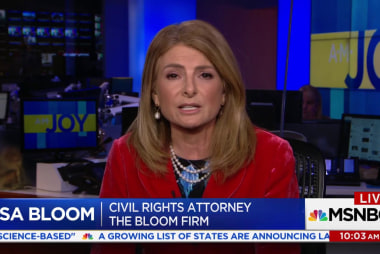 Lisa Bloom responds to statements in The Hill in AM JOY exclusive